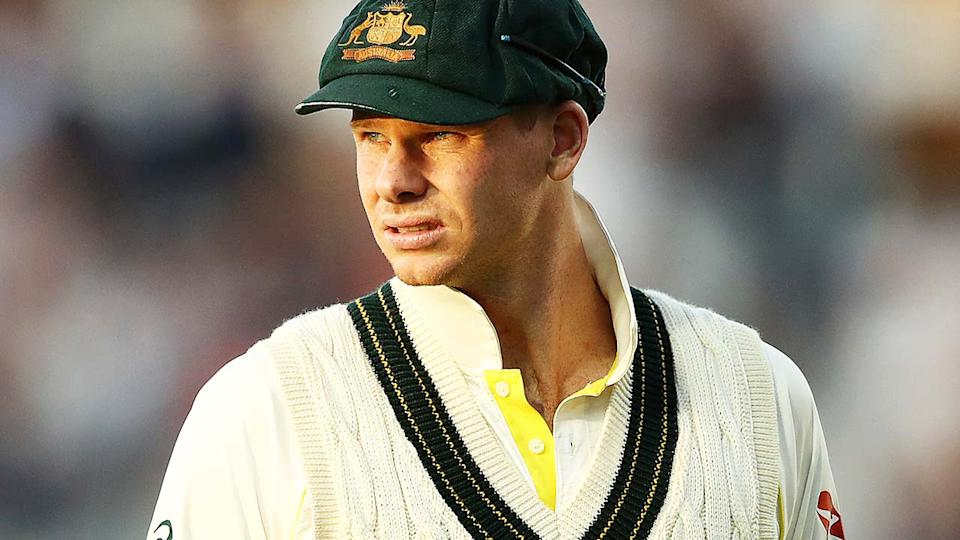 Steve Smith, pictured here during the fifth Ashes Test in 2019.