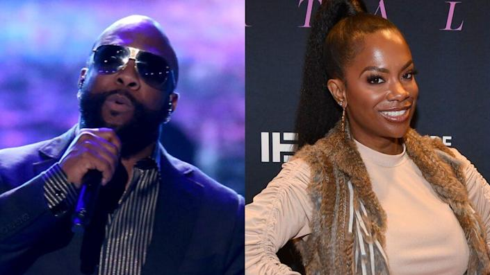 Wanya Morris and Kandi Burrus once clashed over songwriting credits (Getty Images)