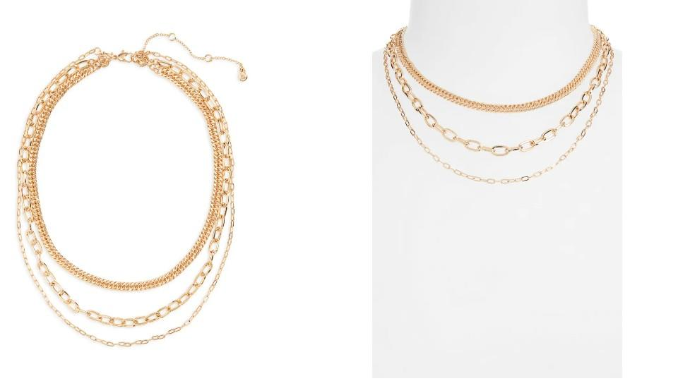 BP. Layered Chain Necklace - Nordstrom, $8 (originally $15)