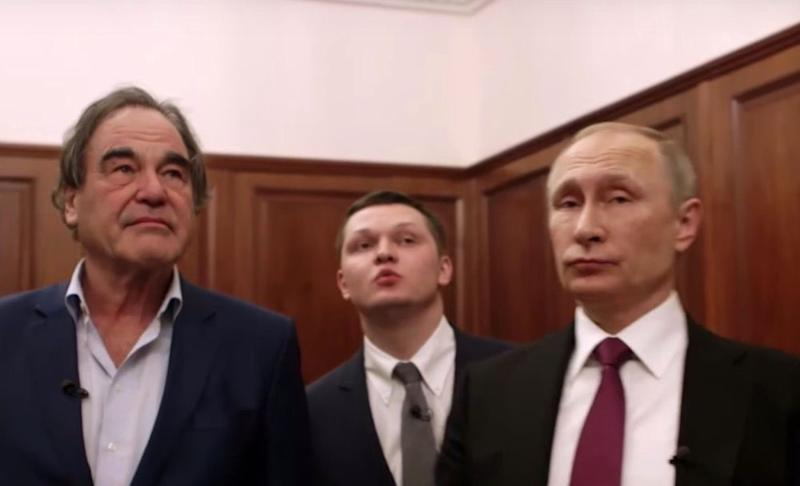Oliver Stone wants Vladimir Putin to be his daughter's godfather