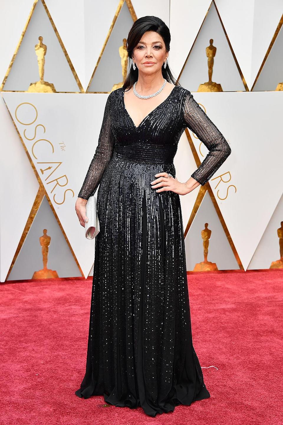 <p>Actress Shohreh Aghdashloo attends the 89th Annual Academy Awards at Hollywood & Highland Center on February 26, 2017 in Hollywood, California. (Photo by Frazer Harrison/Getty Images) </p>
