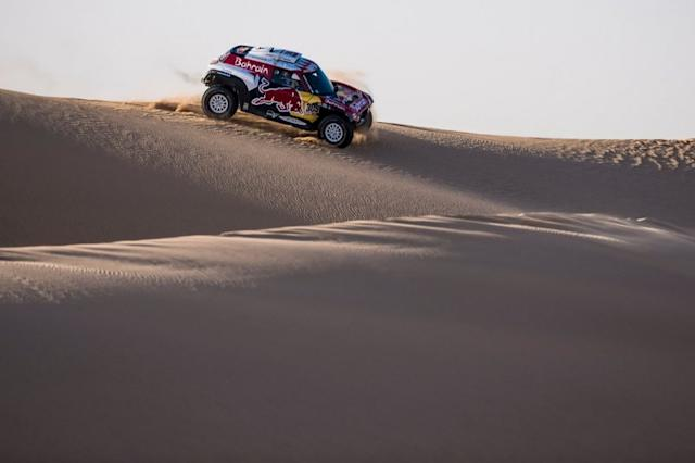 "#305 JCW X-Raid Team: Carlos Sainz, Lucas Cruz <span class=""copyright"">Red Bull Content Pool</span>"