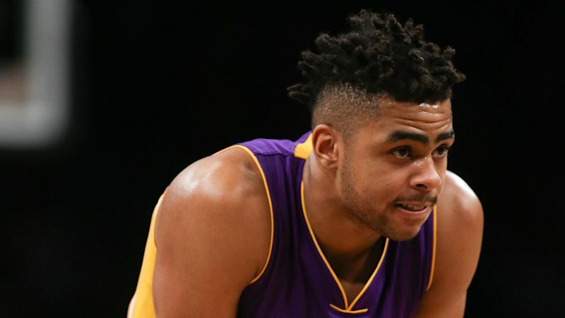 D'Angelo Russell hits emotional 3-pointer in Lakers win after grandmother's death