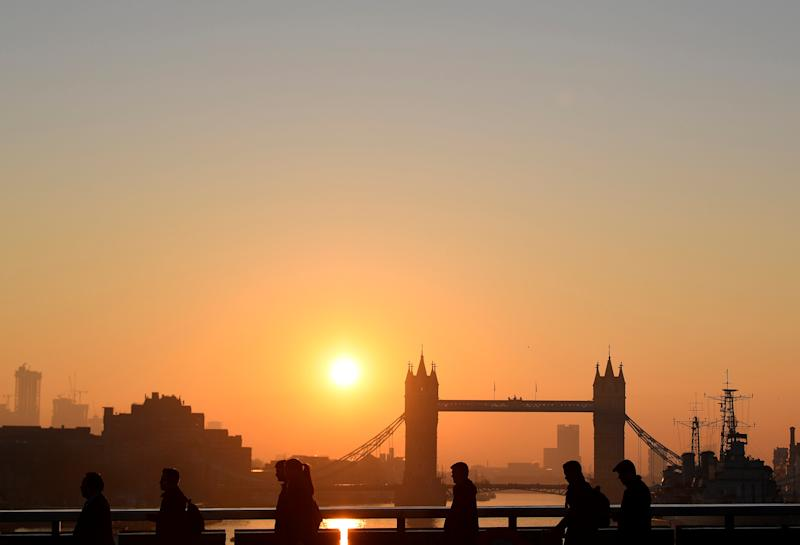 United Kingdom  returns to growth in May but 'storm clouds gathering'