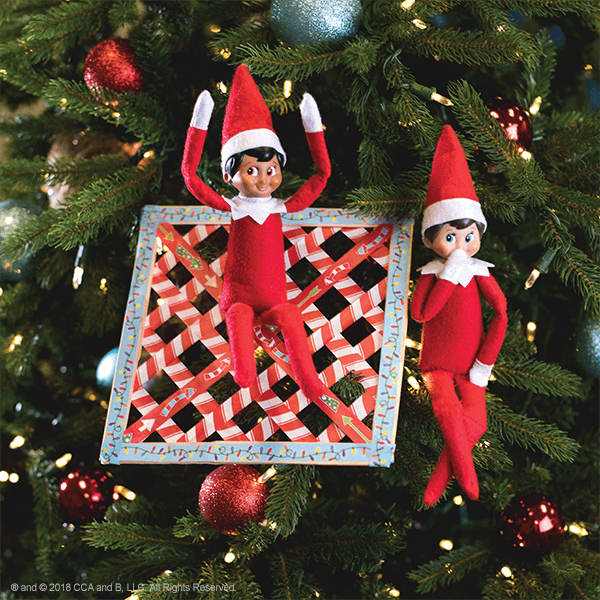 """<p>When Elves arrive by air, it's necessary to provide a soft, cushiony landing for them. With popsicle sticks and some tape, you'll be able to make the perfect, Elf-sized net (and your kids can join in to craft it with you!).</p><p><strong>Get the tutorial at <a href=""""https://elfontheshelf.com/blog/epic-elf-returns/"""" rel=""""nofollow noopener"""" target=""""_blank"""" data-ylk=""""slk:Elf on the Shelf"""" class=""""link rapid-noclick-resp"""">Elf on the Shelf</a>.</strong></p>"""