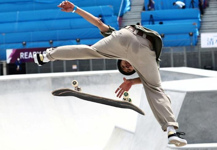Several Olympic test events are taking place in Tokyo, including skateboarding