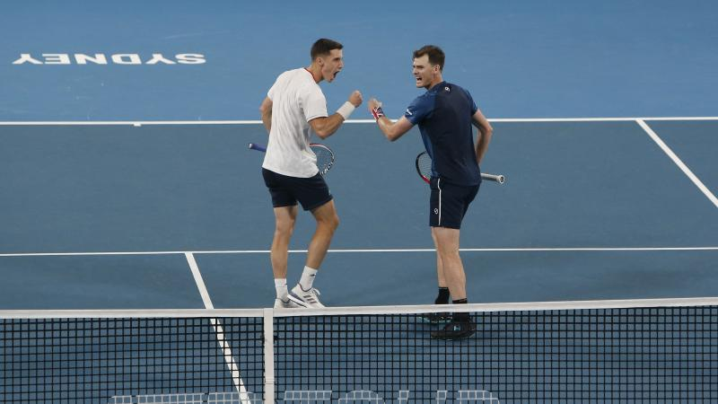 Great Britain to face Australia in ATP Cup quarter-finals