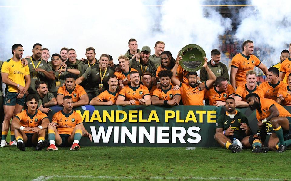 Excellent Australia record back-to-back Rugby Championship victories over limited South Africa - SHUTTERSTOCK