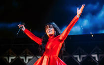 <p>Pop sensation Camila Cabello is in at number 8 thanks to her hit anthem 'Havana Song'. <em>[Photo: Getty]</em> </p>