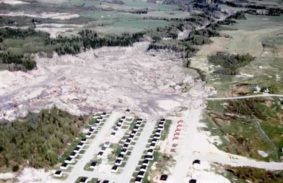 50 years ago, a landslide engulfed the now abandoned Saint-Jean-Vianney, Que.