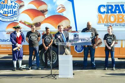 "Much to the delight of more than 9,300 followers of the Facebook page Bring White Castle to Florida, not to mention thousands of other ""Cravers"" in Florida, White Castle® will be opening its first Florida restaurant within the next 18 months. The 98-year-old family-owned business made the announcement today, first to the followers of Bring White Castle to Florida, and then, with the help of its beloved Royal Town Crier, to the guests at a special event at the site of its future Florida castle"