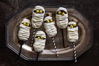 "<p>Halloween is all about the candy, but we're here to advocate for Halloween cookies too. These easy cookie recipes make for a fun activity to do with kids and are perfect to bring to parties...or devour during a <em>Hocus Pocus </em>viewing. We won't judge either way. For more Halloween dessert ideas, dress up <a href=""https://www.delish.com/holiday-recipes/halloween/g1156/halloween-cake-recipes/"" rel=""nofollow noopener"" target=""_blank"" data-ylk=""slk:cakes"" class=""link rapid-noclick-resp"">cakes</a> and <a href=""https://www.delish.com/holiday-recipes/halloween/g2172/halloween-cake-cupcake-recipes/"" rel=""nofollow noopener"" target=""_blank"" data-ylk=""slk:cupcakes for Halloween"" class=""link rapid-noclick-resp"">cupcakes for Halloween</a> too!</p>"