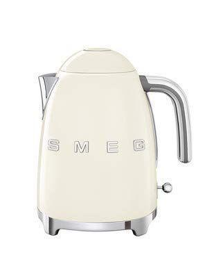 """<p><strong>Smeg</strong></p><p>amazon.com</p><p><strong>$169.95</strong></p><p><a href=""""https://www.amazon.com/dp/B077PJDCG3?tag=syn-yahoo-20&ascsubtag=%5Bartid%7C2140.g.37026564%5Bsrc%7Cyahoo-us"""" rel=""""nofollow noopener"""" target=""""_blank"""" data-ylk=""""slk:Shop Now"""" class=""""link rapid-noclick-resp"""">Shop Now</a></p><p>You likely recognize this one from all your favorite celeb cooking shows. The iconic, Italian-founded Smeg appliance isn't cheap, but you should know that once you get one of these, you'll never need another kettle again. </p><p>It features an automatic shut-off and is smartly designed with a limescale filter to ensure it stays in the same shape you bought it in forever. If you're not in the market for one for yourself, the tea lover in your life will <em>love</em> you for gifting them this.</p>"""