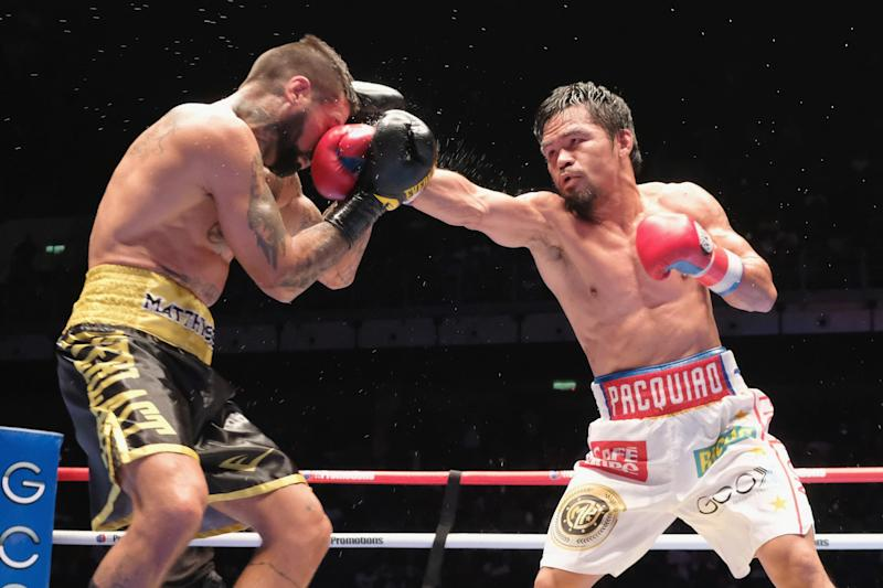 Pacquiao to return in January after stopping Matthysse in the summer: Getty Images