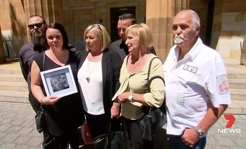 The grieving family are looking for answers. Source: 7 News