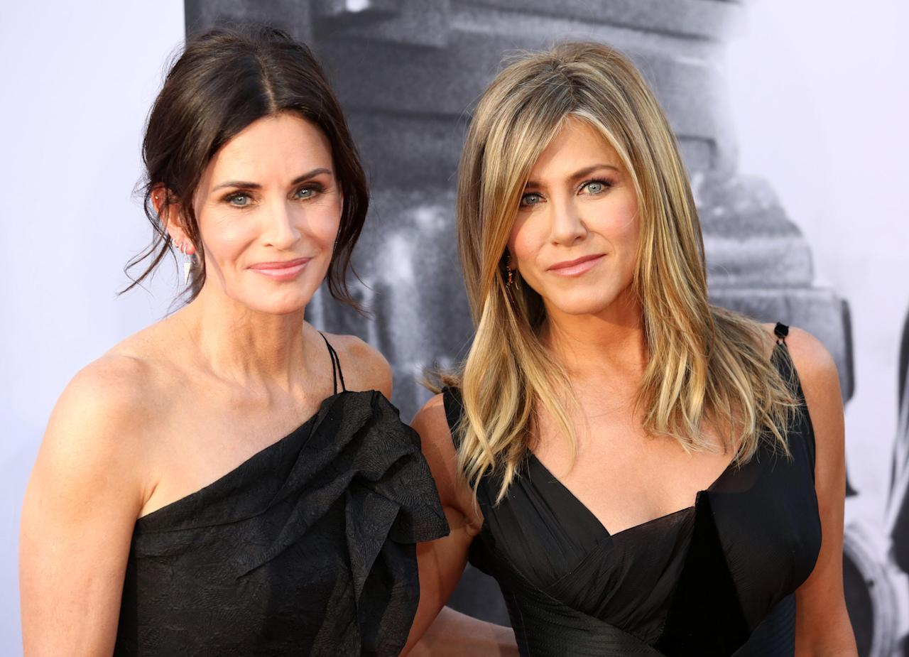<p><strong>Jennifer Aniston e Courtney Cox</strong> hanno rischiato grosso. </p>