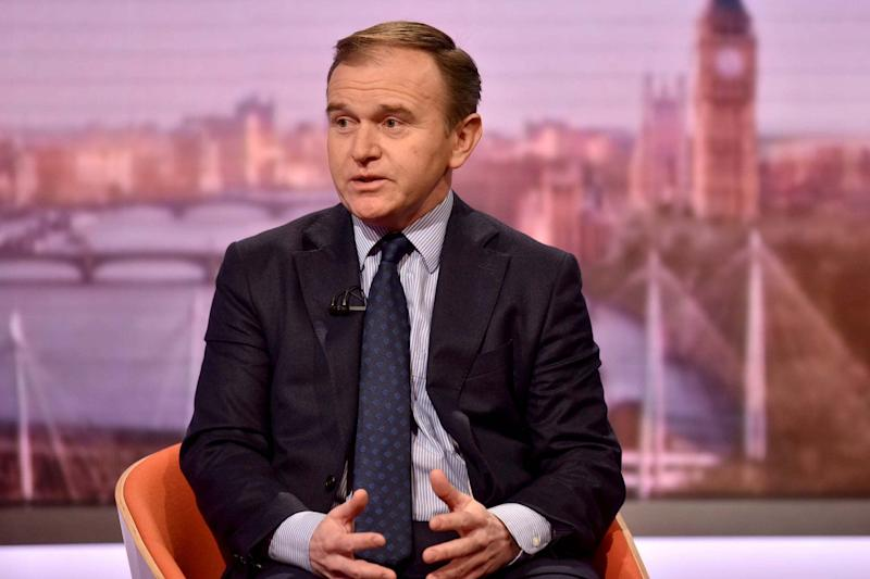 Britain's Secretary of State for Environment, Food and Rural Affairs George Eustice (VIA REUTERS)