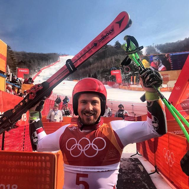 <p>marcel__hirscher: Yes!<br> (Photo via Instagram/marcel__hirscher) </p>