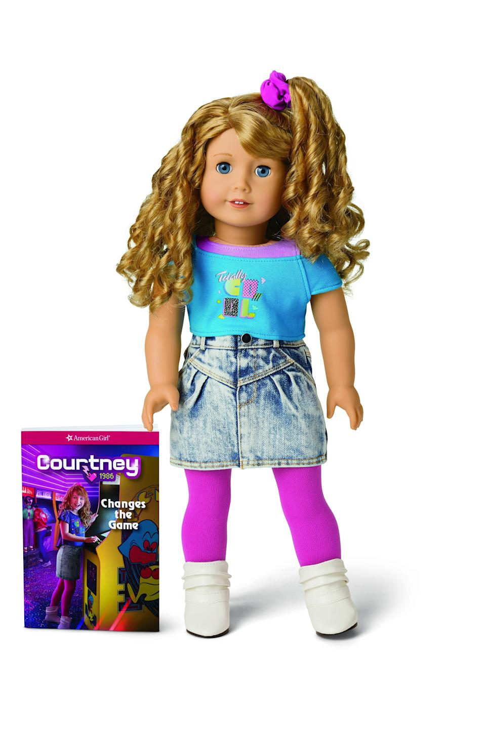 Courtney dreams of creating new video games.  (Photo: American Girl)