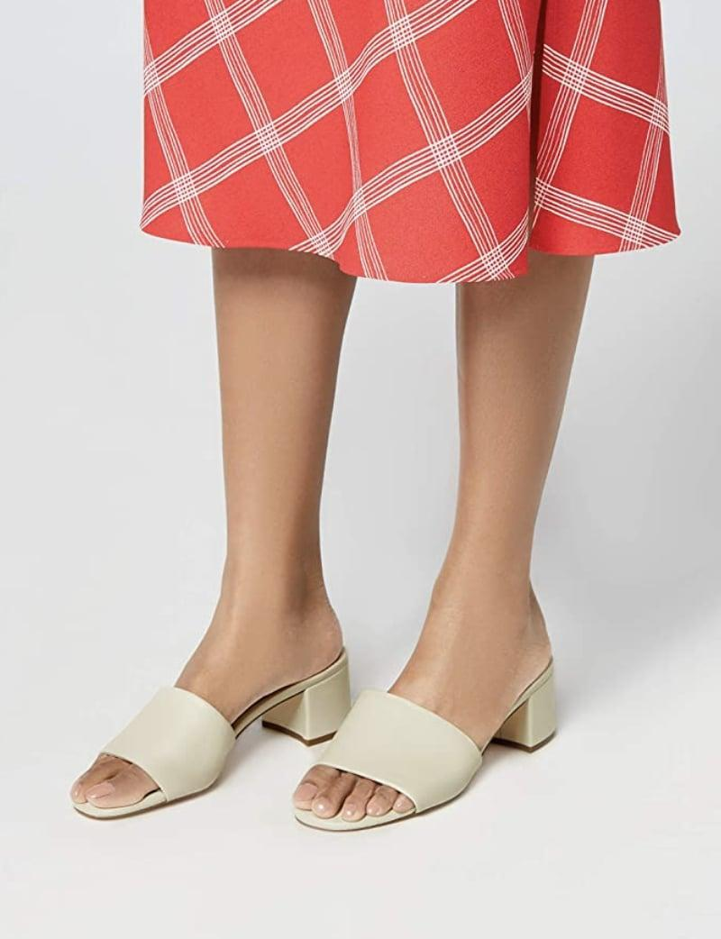 <p>Ditch those uncomfortable heels for these comfy <span>Find. Block Heel Mule Sandals</span> ($32- $37).</p>