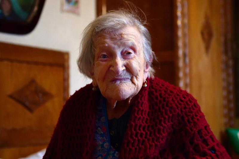 Emma Morano has died at the age of 117, reports say: Olivier Morin/AFP/Getty Images
