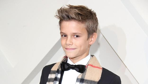 Burberry Launch Their Festive Campaign Starring Romeo Beckham