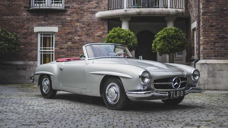 1955 Mercedes-Benz 190SL Roadster ready for auction