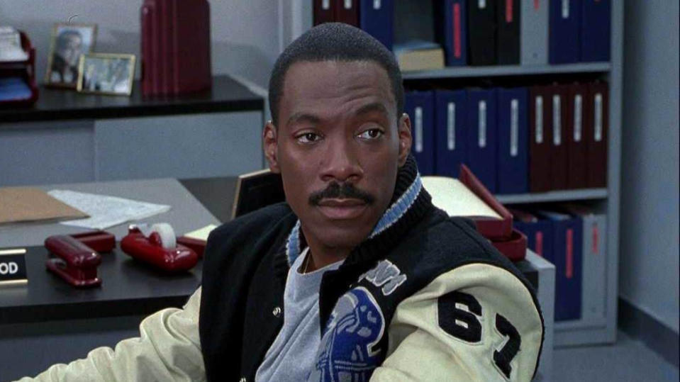 Eddie Murphy as Axel Foley in 'Beverly Hills Cop'. (Credit: Paramount)