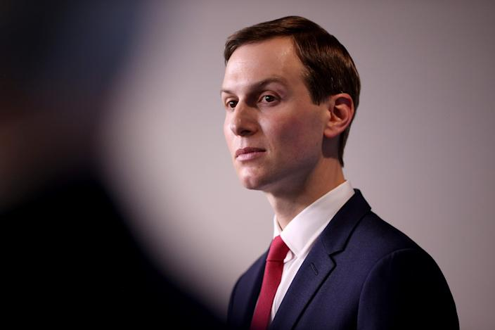 Stepien was reportedly recruited to the Trump campaign in 2016 by Jared Kushner, pictured above.