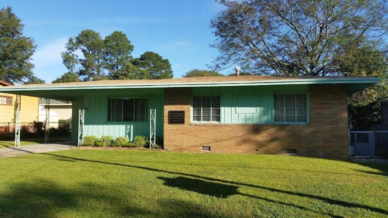 Medgar Evers' home, where the civil rights campaigner was murdered, is now a museum (Ella Buchan)