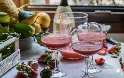 Home made cocktails - Credit: Cocktail Rossini
