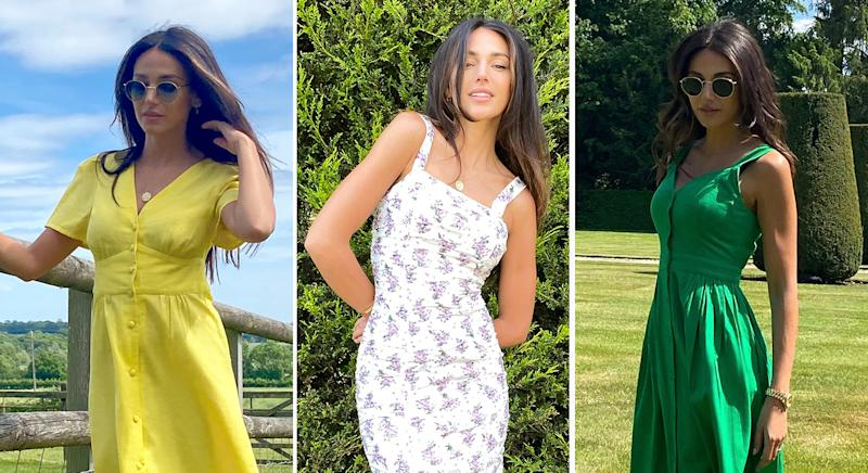 Michelle Keegan releases new spring/summer 2020 collection with Very. (Very)