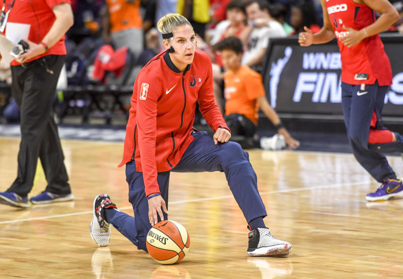 Both Elena Delle Donne and Ariel Atkins have been sidelined with back injuries this week, and are questionable for Game 3 of the WNBA Finals on Sunday.