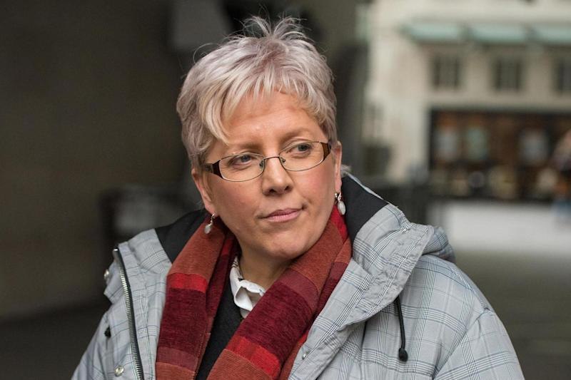 Quitting on principle: Carrie Gracie, resigned as the BBC's China Editor over an equal pay row: PA