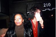 <p>In 1980, Diana Ross began dating Kiss singer Gene Simmons. The two performers dated until 1983.</p>