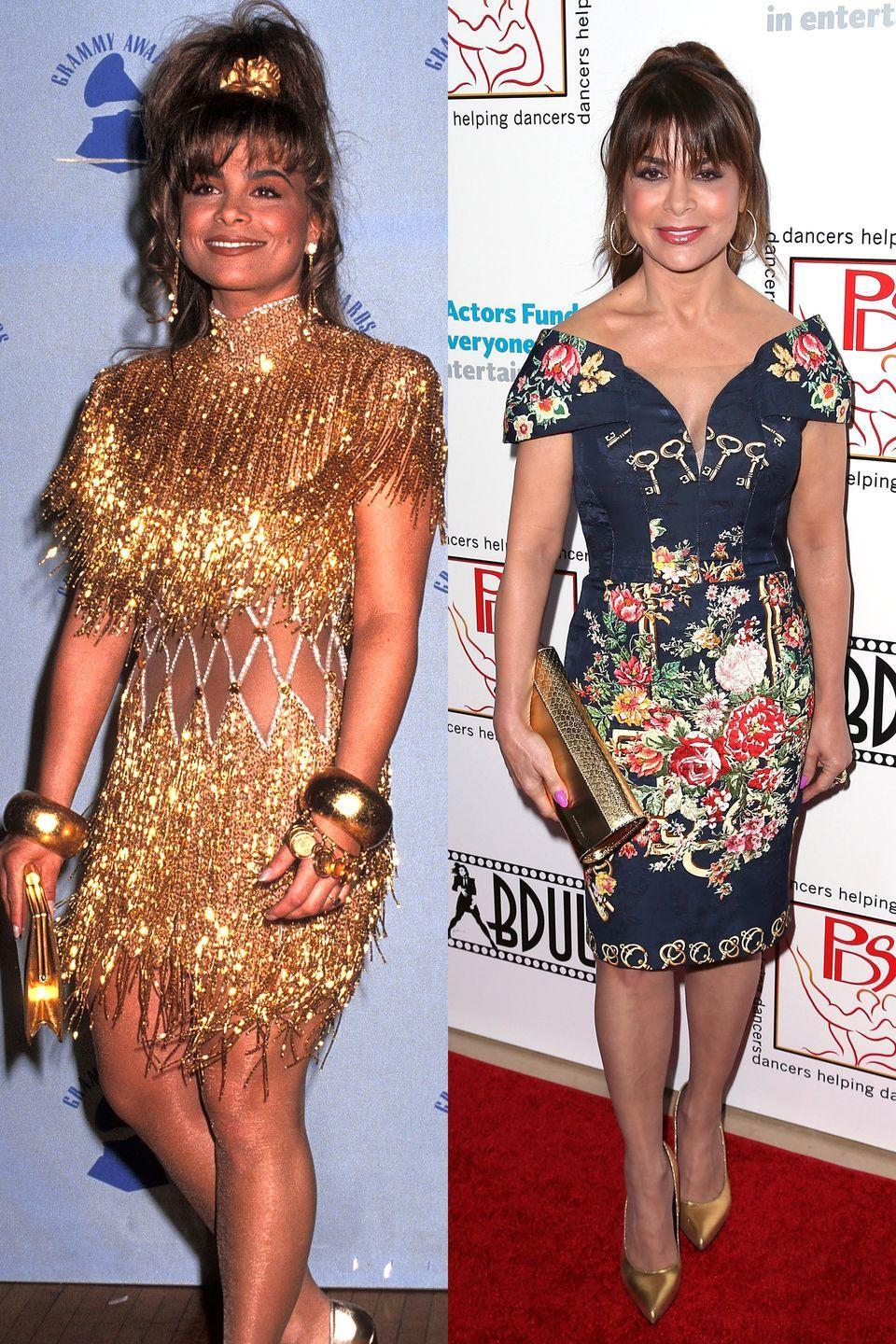 <p>When you're Paula Abdul you can really never go wrong. </p>