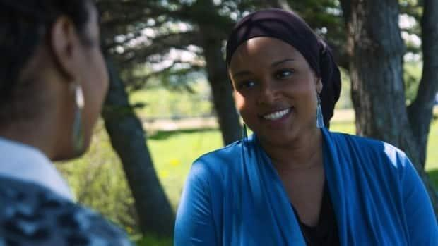 Shauntay Grant is an award-winning Halifax author, playwright and storyteller. Her play, Beyere, is part of the 21 Black Futures project. (CBC Arts - image credit)