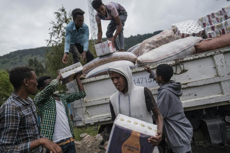 In July, the UN warned that 400,000 people across Tigray had 'crossed the threshold into famine' (AFP/EDUARDO SOTERAS)