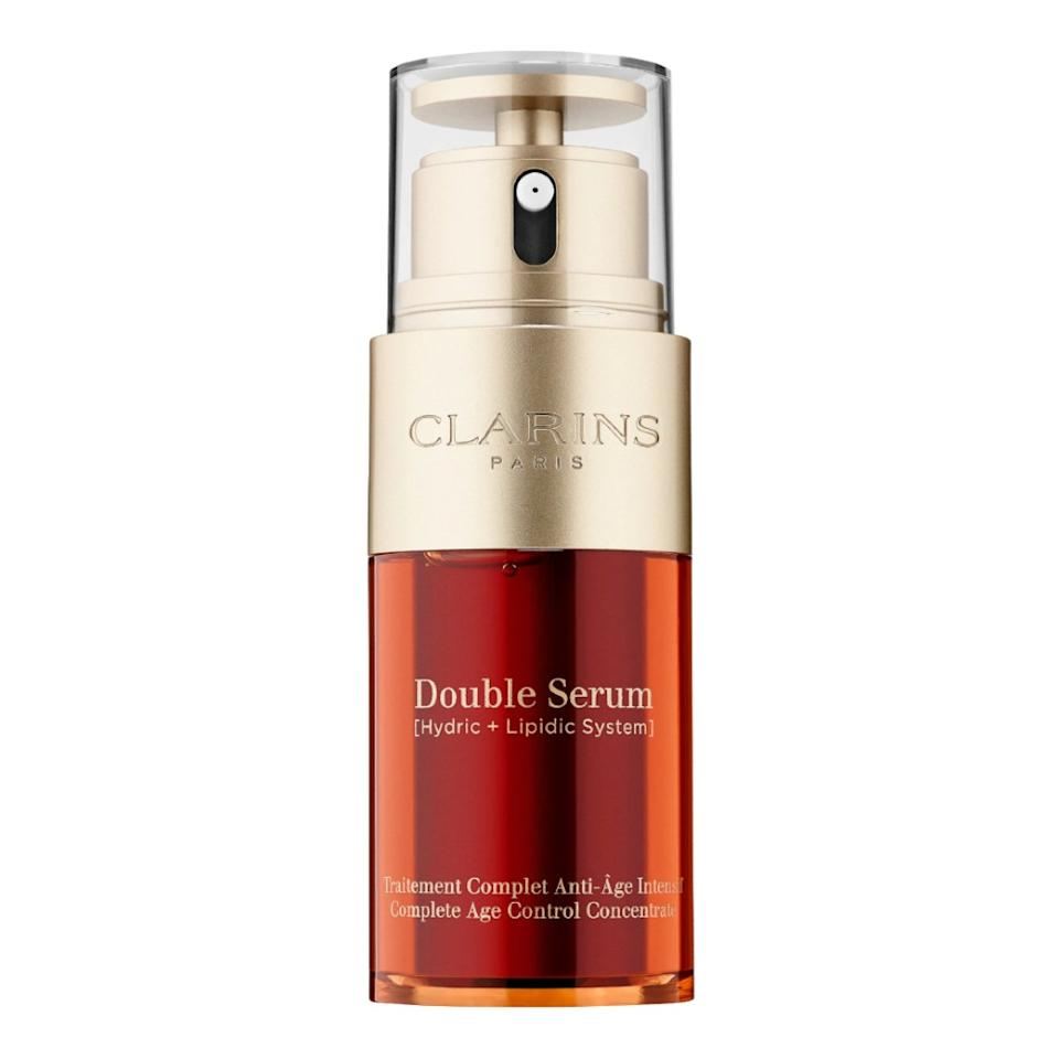 Clarins Double Serum Complete Age Control Concentrate Facial Serum. (Photo: Walmart)