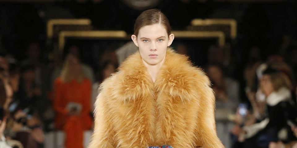 Photo credit: A faux-fur look from Stella McCartney - Getty Images