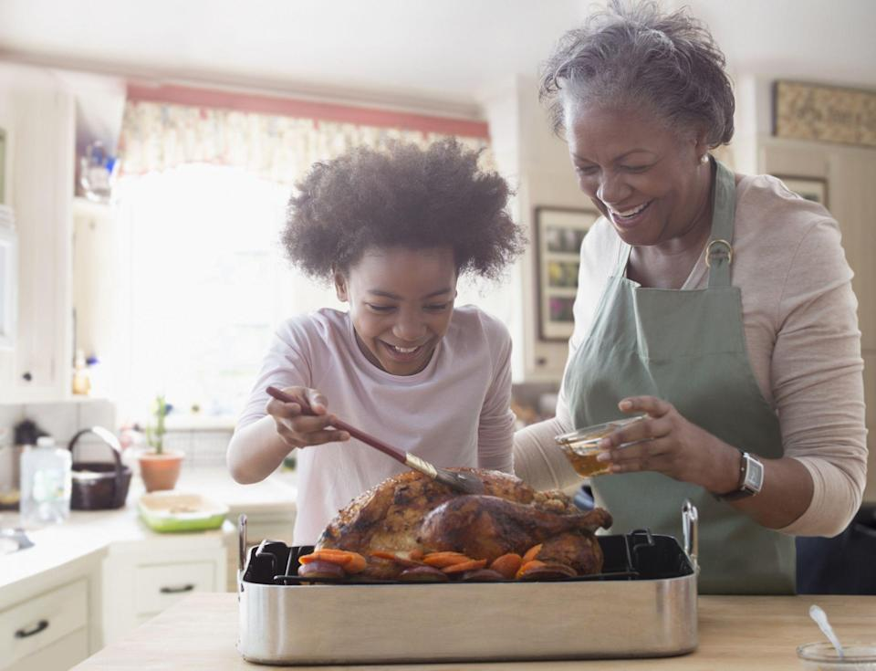 "<p>Every <a href=""https://www.goodhousekeeping.com/holidays/thanksgiving-ideas/g4689/thanksgiving-turkey-recipes/"" rel=""nofollow noopener"" target=""_blank"" data-ylk=""slk:Thanksgiving turkey feast"" class=""link rapid-noclick-resp"">Thanksgiving turkey feast</a> must have a few essential elements: a gleaming roast turkey with stuffing (or dressing, depending on your background), <a href=""https://www.goodhousekeeping.com/holidays/thanksgiving-ideas/g297/easy-mashed-potatoes-recipes/"" rel=""nofollow noopener"" target=""_blank"" data-ylk=""slk:mashed potatoes"" class=""link rapid-noclick-resp"">mashed potatoes</a> with gravy, pumpkin pie with lots of whipped cream for <a href=""https://www.goodhousekeeping.com/holidays/thanksgiving-ideas/g1532/thanksgiving-desserts/"" rel=""nofollow noopener"" target=""_blank"" data-ylk=""slk:dessert"" class=""link rapid-noclick-resp"">dessert</a>, and more than likely, lots of supporting <a href=""https://www.goodhousekeeping.com/holidays/thanksgiving-ideas/g1202/thanksgiving-side-dishes/"" rel=""nofollow noopener"" target=""_blank"" data-ylk=""slk:side dishes"" class=""link rapid-noclick-resp"">side dishes</a> to really round out the meal. And if your family is anything like mine, you've probably got at least a couple of traditions that really make the occasion special. </p><p>For many of us, <a href=""https://www.goodhousekeeping.com/holidays/thanksgiving-ideas/"" rel=""nofollow noopener"" target=""_blank"" data-ylk=""slk:Thanksgiving"" class=""link rapid-noclick-resp"">Thanksgiving</a> marks one of the few times all year when we can get together with our families or chosen families to share a delicious meal, give thanks for our good fortune, and just bask in each other's company without gifts or other events stealing the spotlight from the beloved faces around the table. Over the years, many families and groups of friends develop their own special Thanksgiving traditions. Those often range from goofy to touching, food-focused to getting away from the table, athletic to relaxing — and most require few to no additional materials or effort other than everyone's enthusiasm. We asked the <em>Good Housekeeping</em> staff and a few friends to share their favorite Thanksgiving moments, in case you're interested in adapting them as part of your own celebration. </p>"