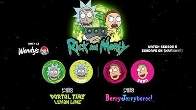 Fans Can Enjoy New Custom Coca-Cola Freestyle Mixes and Free Wendy's Delivery to Celebrate Global Rick and Morty Day on Sunday, June 20