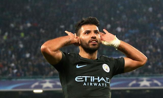 """Did Sergio Aguero steal Shahan Ahmed's enthusiasm for <a class=""""link rapid-noclick-resp"""" href=""""/soccer/teams/napoli/"""" data-ylk=""""slk:Napoli"""">Napoli</a>? Listen for yourself. (The Guardian)"""