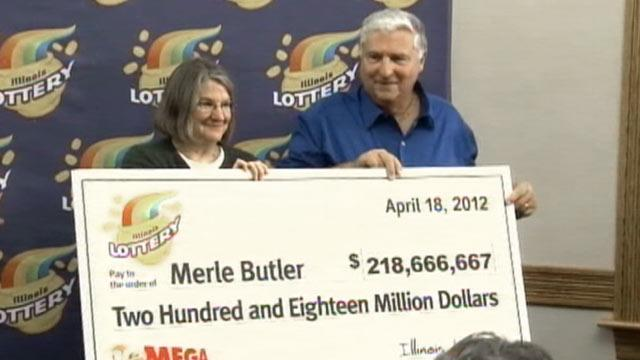 Mega Millions Winners Merle and Patricia Butler Giggled for Four Hours (ABC News)