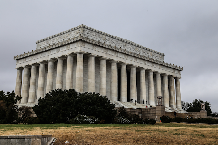 An iconic site in Washington, D.C., the Lincoln Memorial opened in 1922 and was designed by architect Henry Bacon.