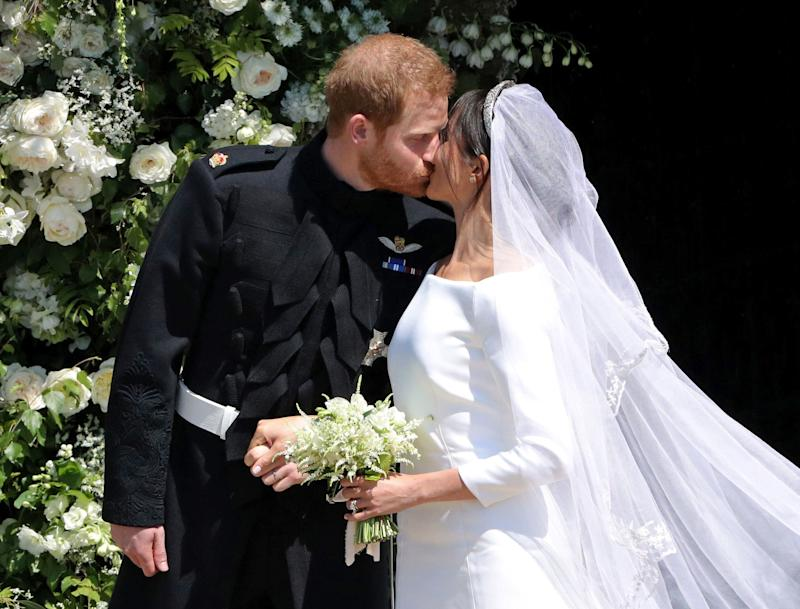 Meghan Markle & Prince Harry Had the Strangest Rule for Their Wedding Pictures