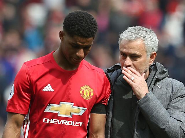Marcus Rashford refutes claims he dived to win penalty against Swansea
