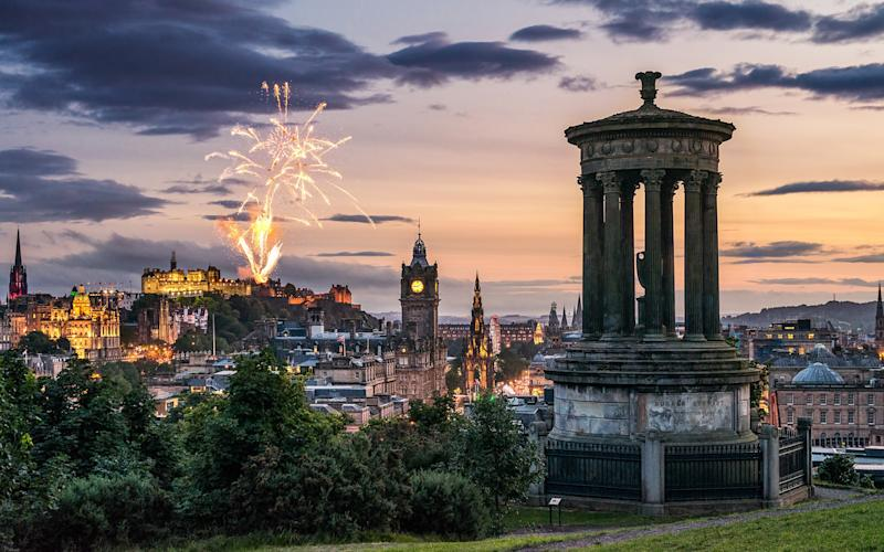With plenty of music, dancing and magnificent firework displays, New Year's in Edinburgh is an event to be remembered. - George Clerk www.georgeclerk.com