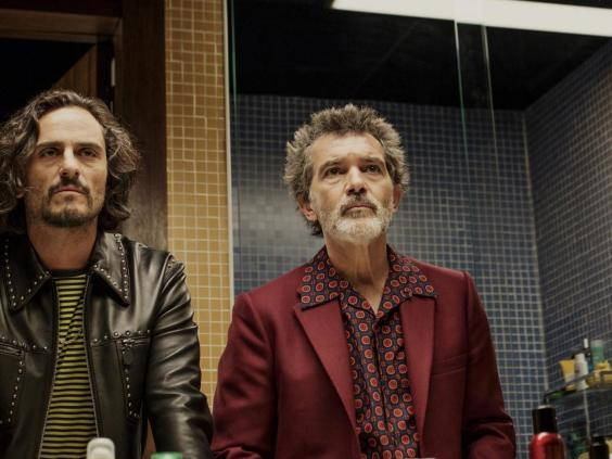 Raúl Arévalo and Antonio Banderas in 'Pain and Glory' (Sony Pictures Releasing)