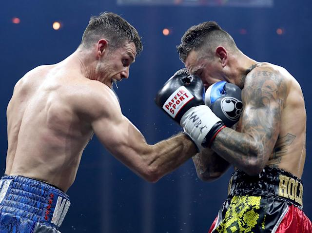 Callum Smith outclasses Nieky Holzken to set up World Boxing Super Series showdown with George Groves